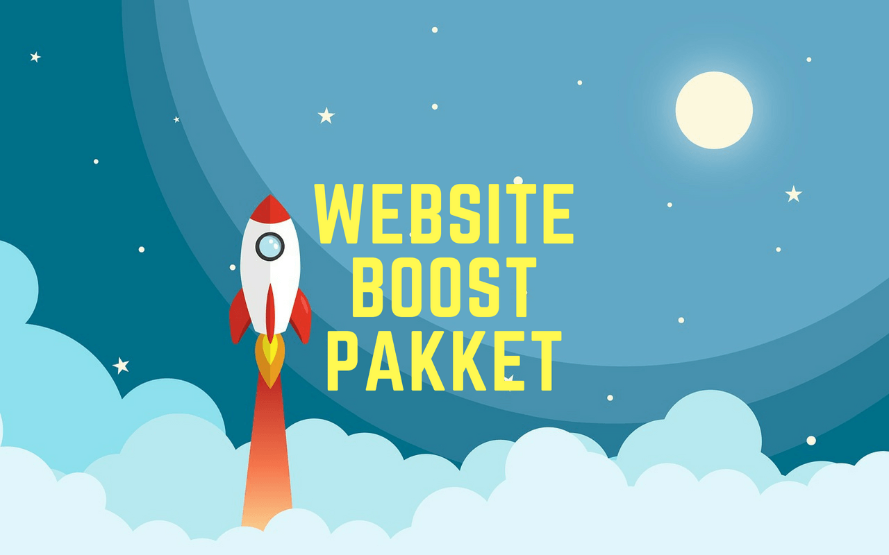 website boost pakket raket maan adsposure